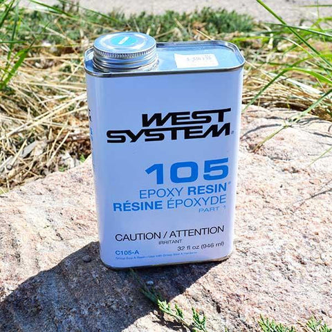 West System Epoxy Resin 105 (quart)
