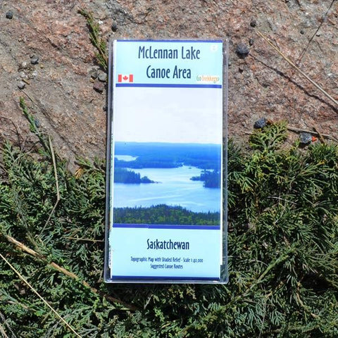 Go Trekker Map MacLennan Lake (synthetic)
