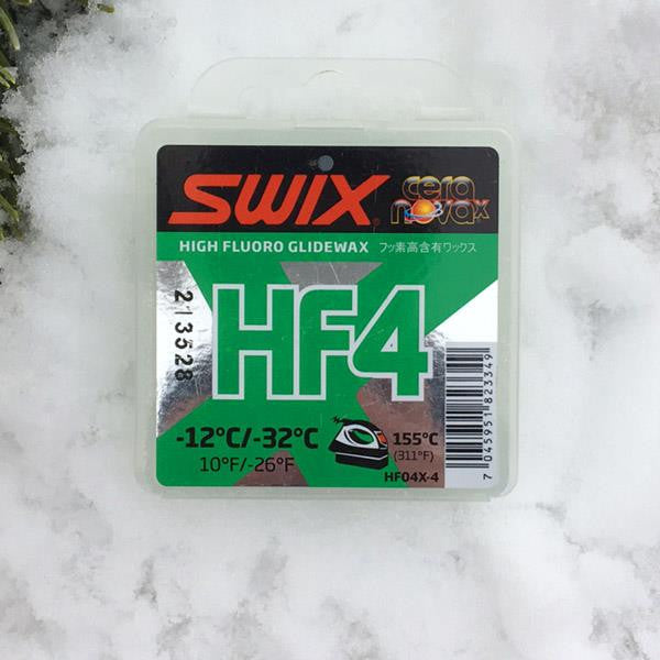 Swix glide wax HF4 green