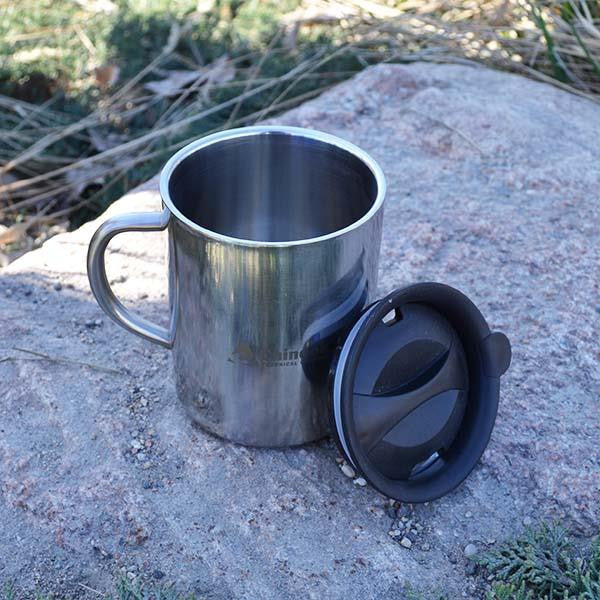 Chinook Timberline mug with lid