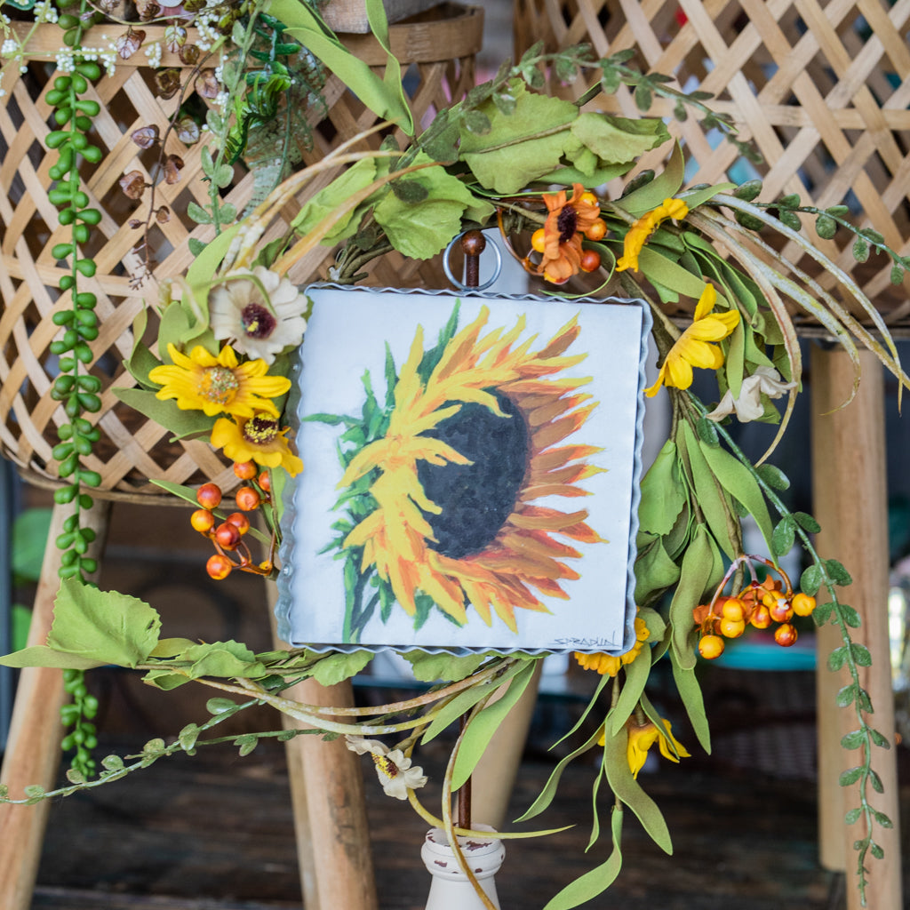 Sunflower Mini Wreath