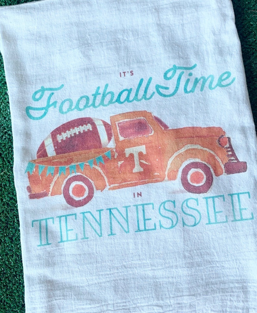 Football Time Tea Towel