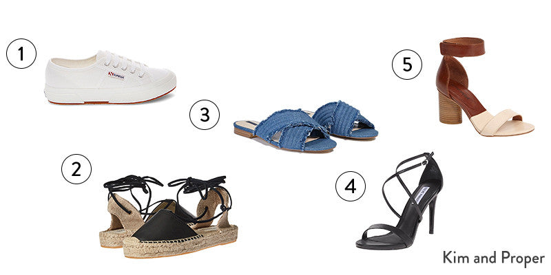 5 Shoes Every Fashionista Should Own for Summer