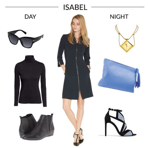 Our Isabel Dress Does Day to Night Just Right!