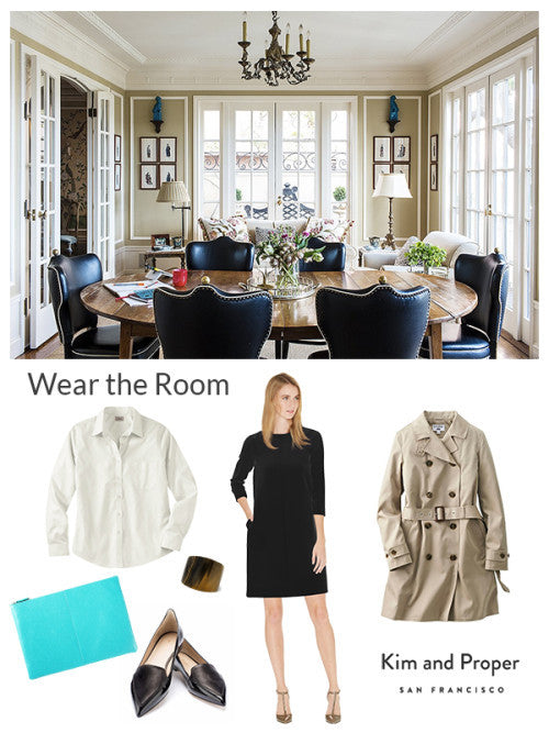 Wear the Room: Frenchie Family Room as Victoria