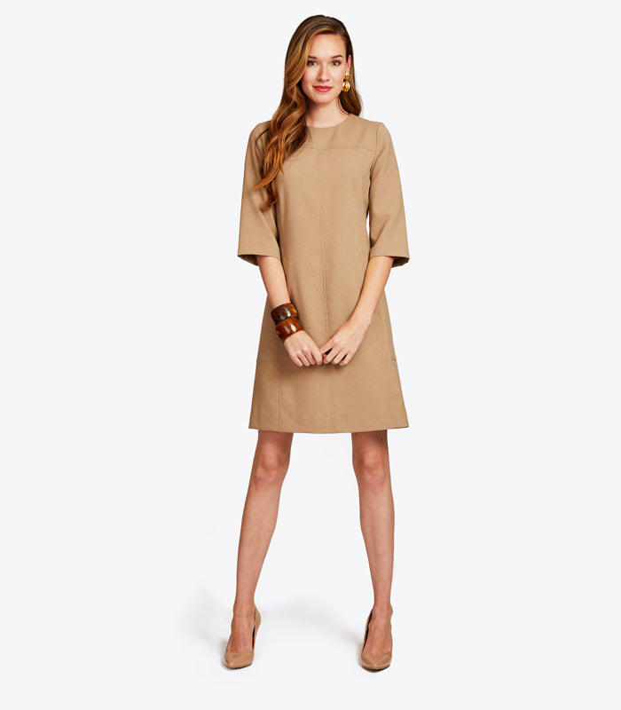 <br>Dresses that are slim, chic, <br>appropriate, and comfortable.