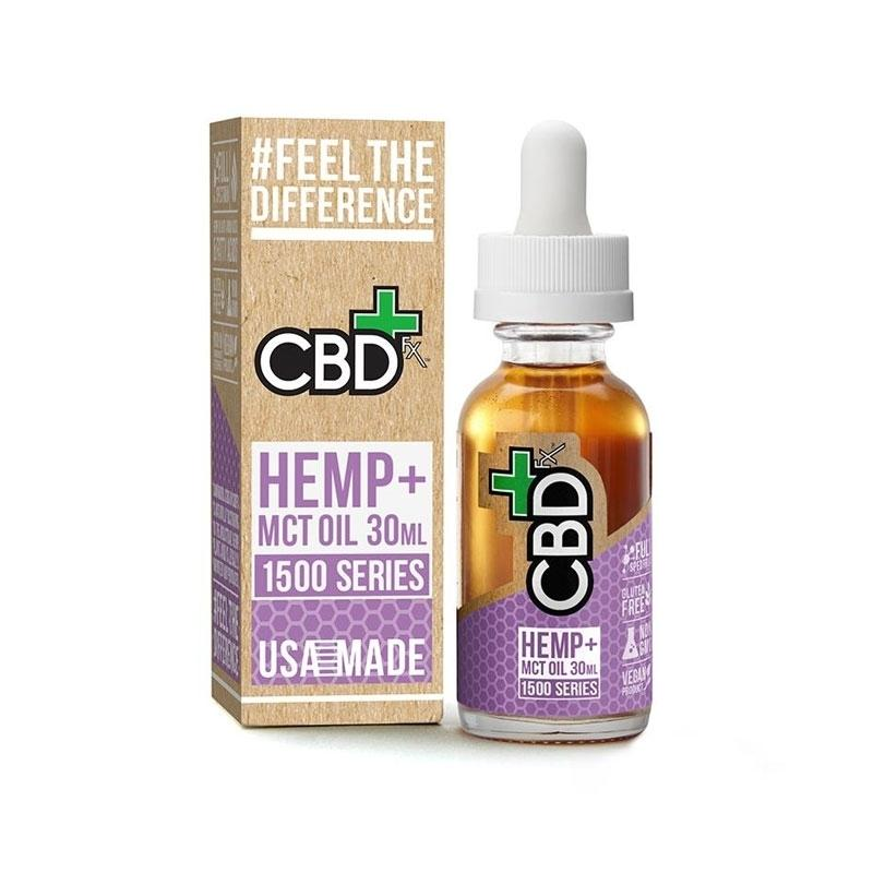 CBDfx Hemp and MCT Oil Tincture 30ml (1500mg)