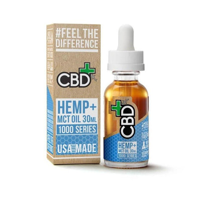 CBDfx Hemp and MCT Oil Tincture 30ml (1000mg)