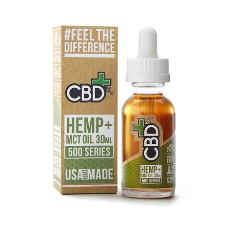 CBDfx Hemp and MCT Oil Tincture 30ml (500mg)