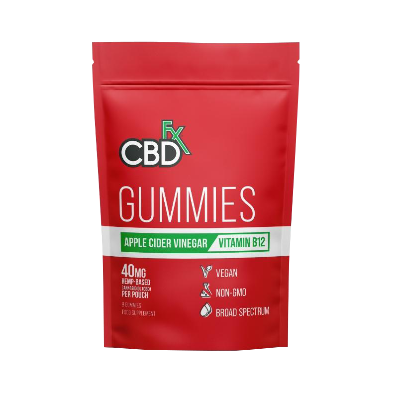 CBDfx Gummies - Apple Cider Vinegar (Pouch of 8)
