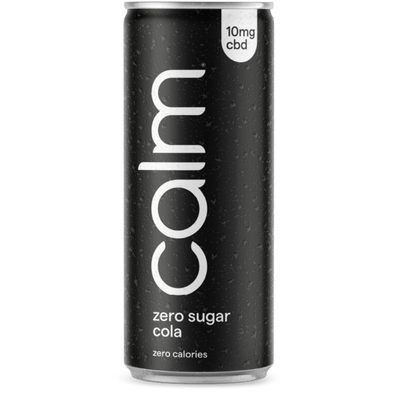 CALM - ZERO SUGAR COLA CBD INFUSED