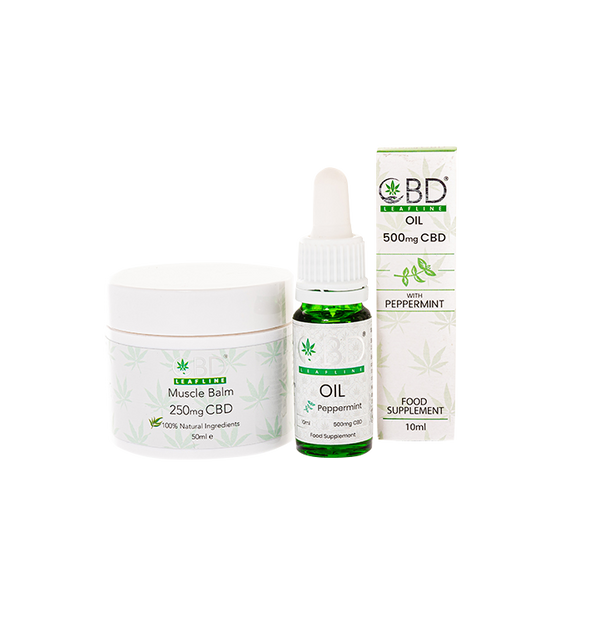 CBD Leafline - Work out CBD bundle - 2 pack