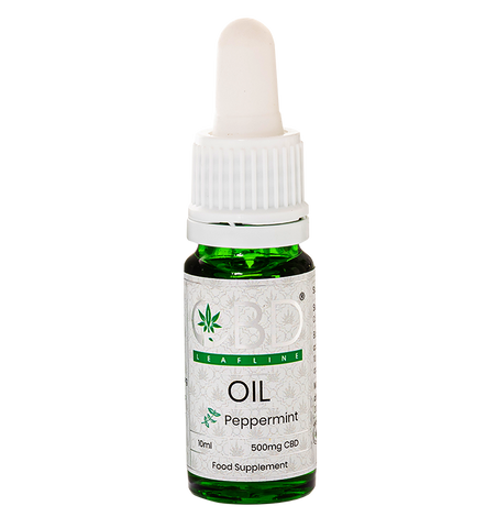 CBD Whole Plant Oils derived from low-THC cannabis Peppermint (hemp)