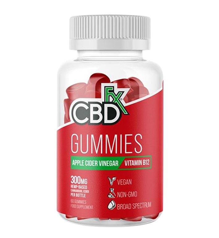 CBDfx Gummies - Apple Cider Vinegar (Jar of 60)