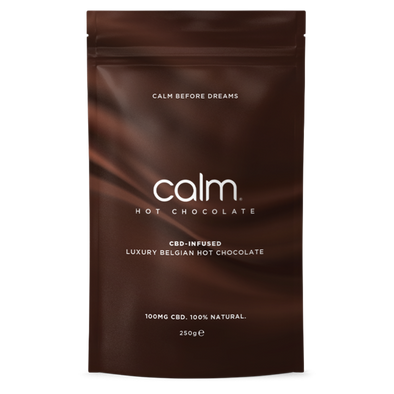 CALM - BELGIAN HOT CHOCOLATE FLAKES - CBD INFUSED