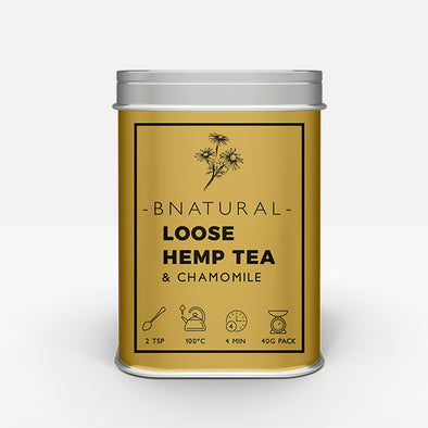 Hemp and Chamomile Tea – 40g Loose
