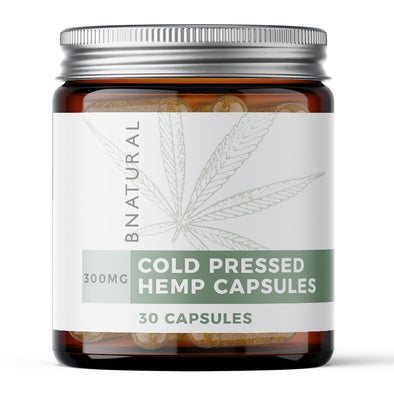 Cold-Press Hemp CBD Capsules