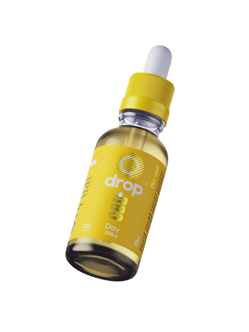Drop CBD Oil for Daytime Use - 30ml bottle - dropcbd