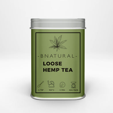 Pure Hemp Tea – 40g Loose