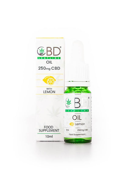 CBD Leafline - Whole Plant CBD Oil - Lemon