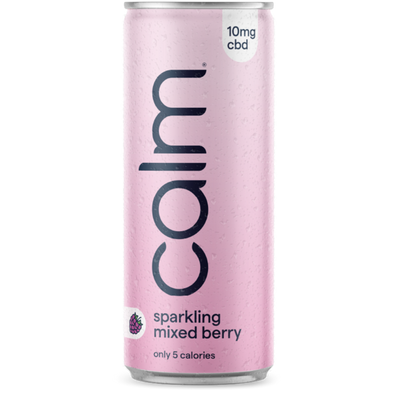 CALM - MIXED BERRY CBD SPARKLING WATER