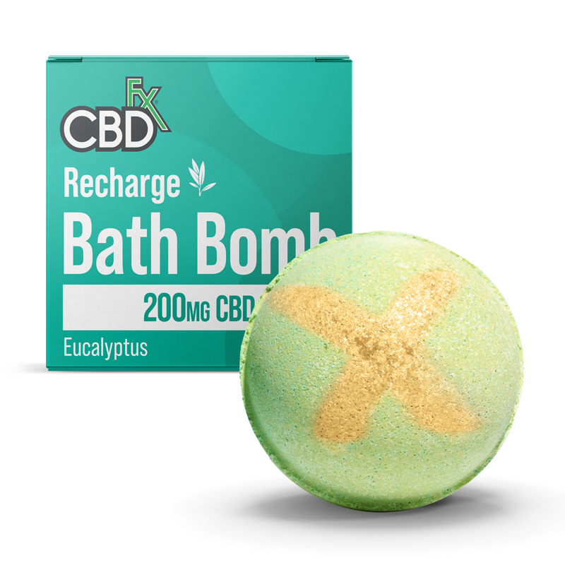 CBD Bath Bombs - Recharge / Soothing