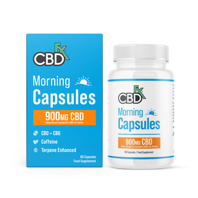 CBD + CBG MORNING CAPSULES 900MG