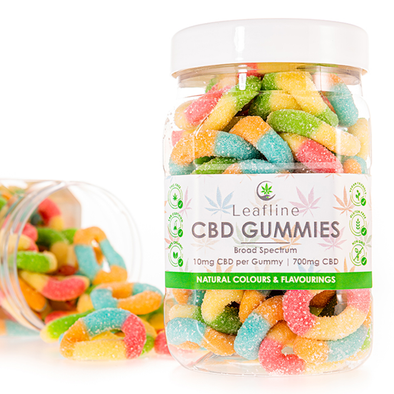 CBD Gummy Rings | CBD Gummies | 10mg CBD | Large