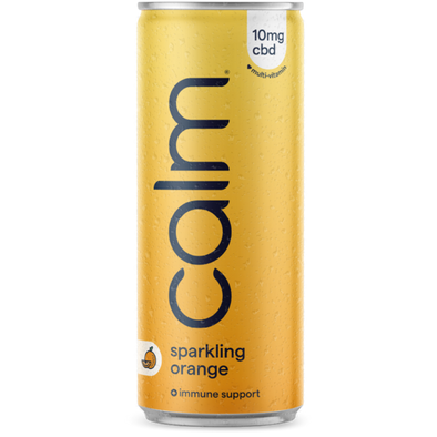 CALM - ORANGE MULTI-VITAMIN IMMUNE SUPPORT SPARKLING WATER