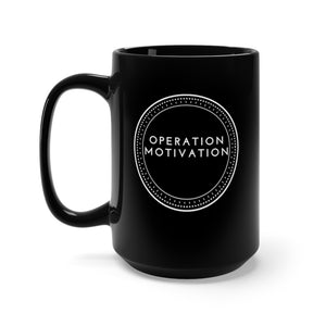 Work For It Black Mug 15oz