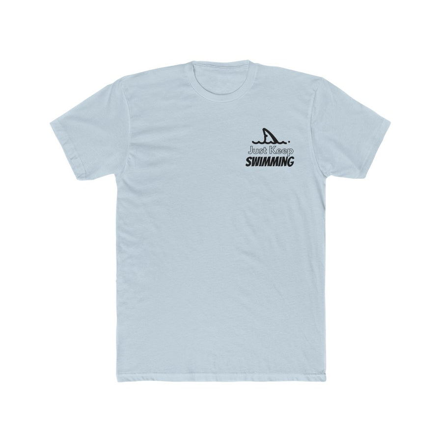 Keep Swimming Men's Cotton Crew Tee