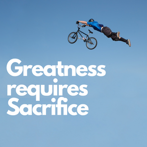 Greatness Requires Sacrifice Canvas Tile