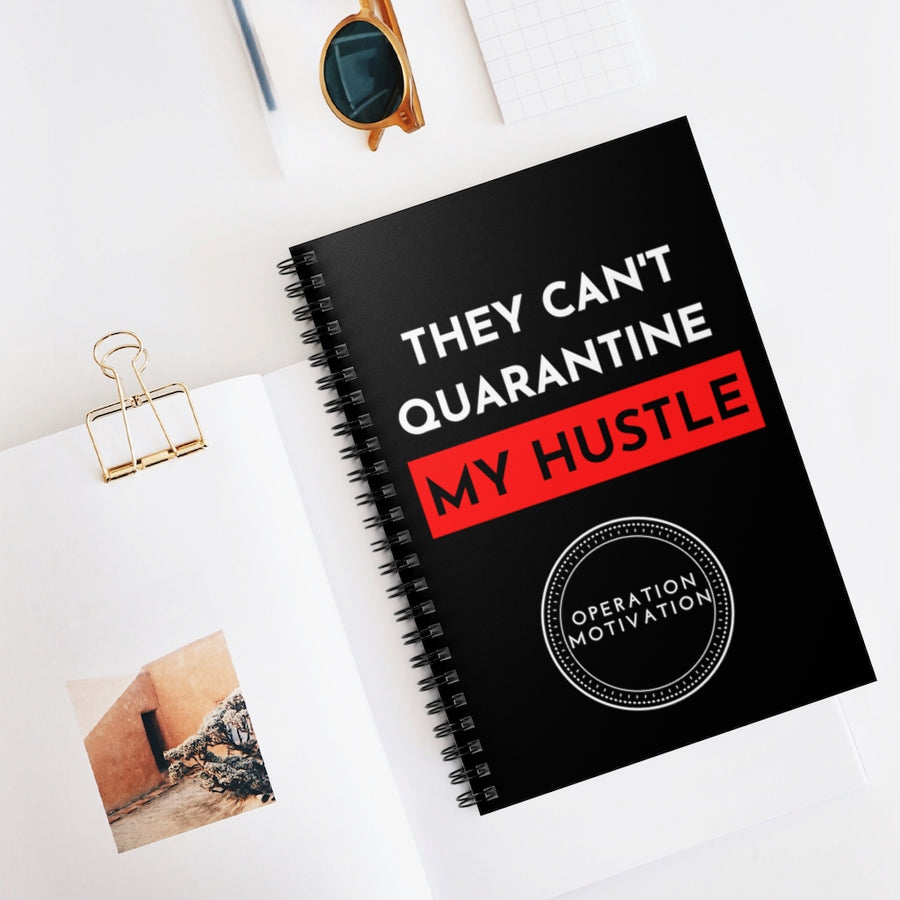 They Can't Quarantine My Hustle Black Journal