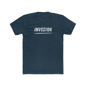 INVESTOR Men's Cotton Crew Tee