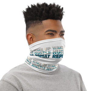 Wake Up, Hustle and Repeat Neck Gaiter