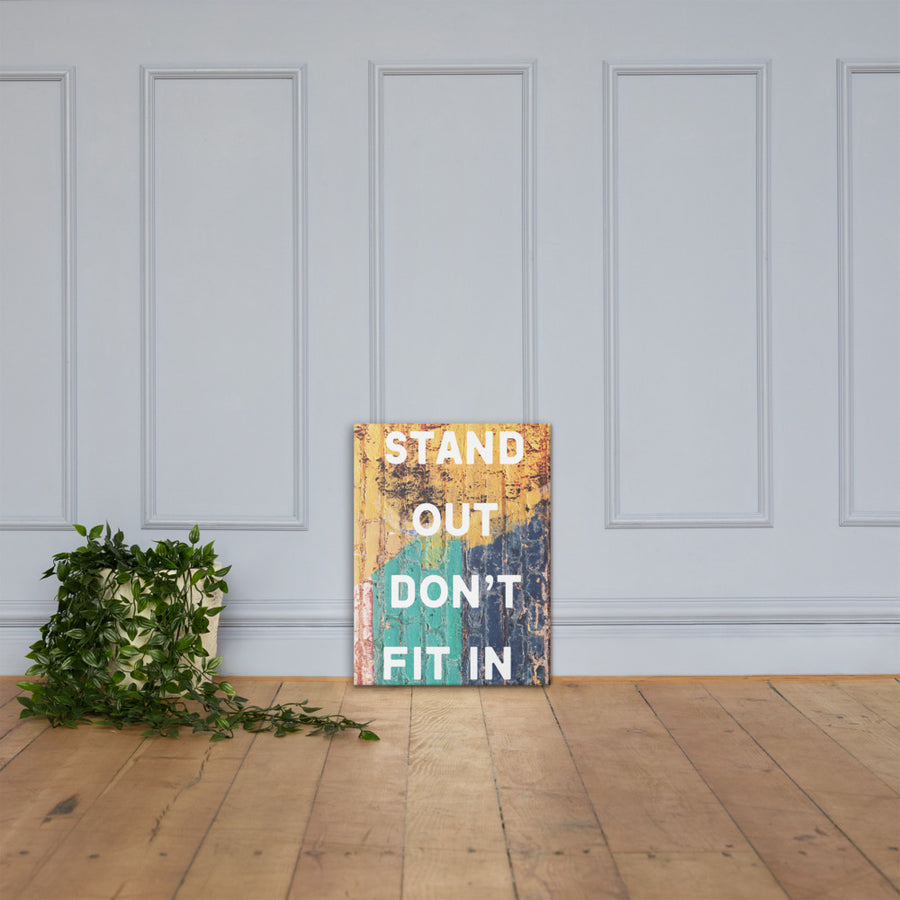 Stand Out Canvas