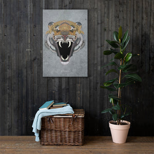 The Munitions Tiger Canvas