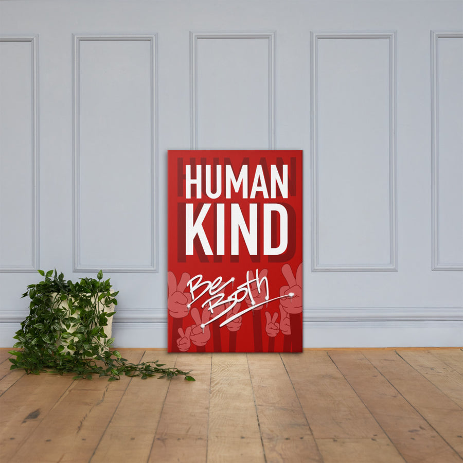 Human Kind Canvas