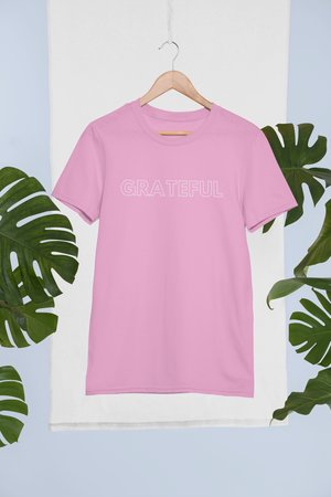 GRATEFUL Men's Cotton Crew Tee
