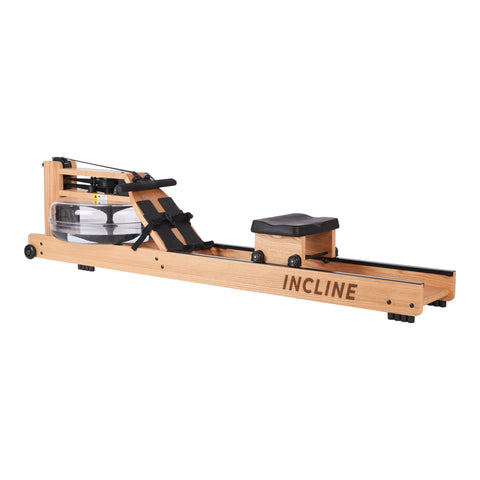Oak Water Rowing Machine with Monitor