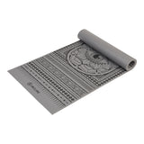 Anti Slip Printed Yoga Mat (4mm & 6mm) - Thick & Non Slip Exercise Mat For Yoga, Pilates, Stretching, Meditation, Floor & Fitness Exercises