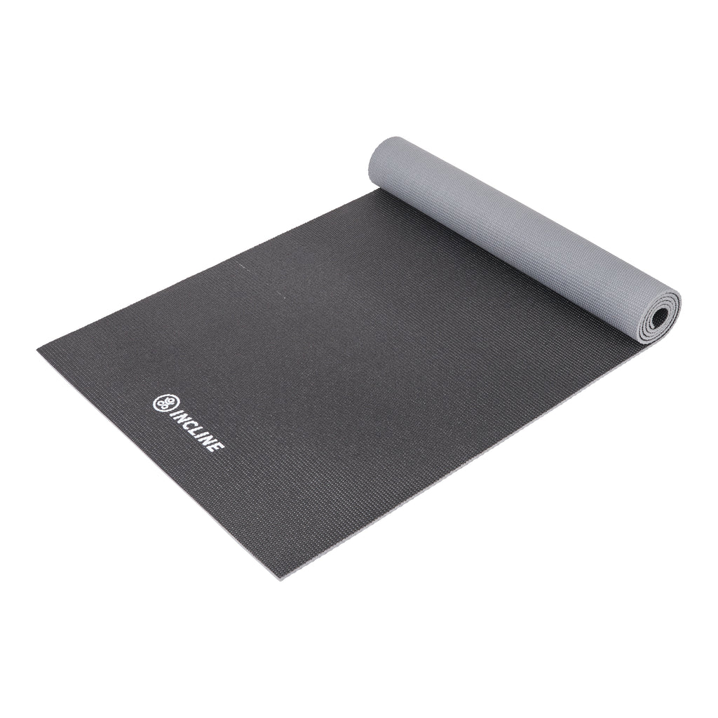 Anti Slip Double Sided Yoga Mat (6mm) - Thick & Non Slip Exercise Mat For Yoga, Pilates, Stretching, Meditation, Floor & Fitness Exercises
