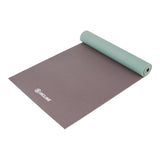 Anti Slip Double Sided Yoga Mat (4mm & 6mm) - Thick & Non Slip Exercise Mat For Yoga, Pilates, Stretching, Meditation, Floor & Fitness Exercises