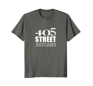 405 Street Outlaws T-Shirt |Lay Rubber Down Track Race Tee