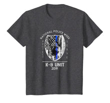 Load image into Gallery viewer, 2019 National Police Week K9 Unit Thin Blue Line Cop Gifts