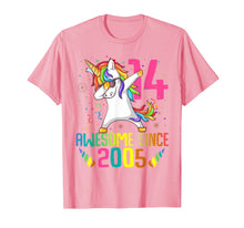 Load image into Gallery viewer, 14 Years Old 14th Birthday Unicorn Dabbing Shirt Girl Party