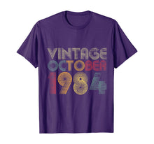 Load image into Gallery viewer, 35th Birthday Gifts - Vintage October 1984 T-Shirt