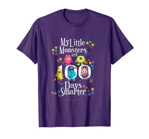 100 Days Teacher Shirt- Funny My Little Monsters