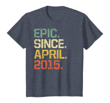 Load image into Gallery viewer, 5 Years Old Shirt Gift- Epic Since April 2015 T-Shirt
