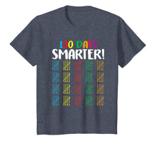 Load image into Gallery viewer, 100 Days Smarter T-Shirt Counting Hash Marks Days Of School